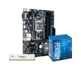 ASUS PRIME B250M-A + Intel G4600 + Crucial 8GB 2400MHz