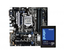 ASUS PRIME H270M-PLUS + 120GB 2,5'' BURST SATA SSD