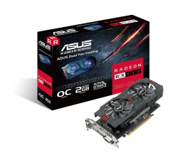 ASUS Radeon RX 560 OC 2GB GDDR5 (RX560-O2G)