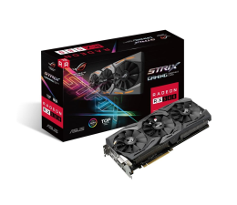 ASUS Radeon RX 580 TOP Edition 8GB GDDR5  (ROG-STRIX-RX580-T8G-GAMING)