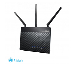 ASUS RT-AC68U (1900Mb/s a/b/g/n/ac, 2xUSB 3G/4G, QAM) (RT-AC68U DualBand AC (AiMesh))
