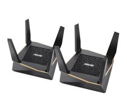 ASUS RT-AX92U (6100Mb/s a/b/g/n/ac/ax) zestaw 2szt. (AX6100 (2xRT-AX92U) Tri-Band AC)