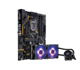 ASUS TUF Z370-PRO GAMING + MasterLiquid ML240L RGB