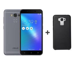ASUS Zenfone 3 Max Laser ZC553KL szary + Bumper Case (ZC553KL-4H020WW + CASE_BLACK)