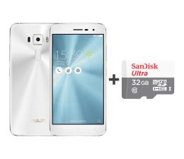 ASUS ZenFone 3 ZE520KL 3/32GB DS biały + 32GB (ZE520KL-1B031WW+SDSQUNS-032G-GN3MN)
