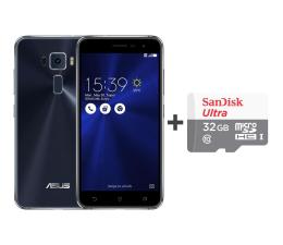 ASUS ZenFone 3 ZE520KL 3/32GB DS granatowy + 32GB (ZE520KL-1A030WW+SDSQUNS-032G-GN3MN)