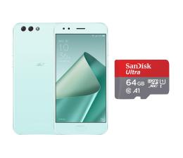 ASUS ZenFone 4 ZE554KL 4/64GB DS miętowy + 64GB (ZE554KL-1N010WW+SDSQUAR-064G-GN6MA)