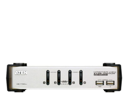 ATEN CS1734AC-AT USB + VGA + audio (4 komputery) (CS1734AC-AT)