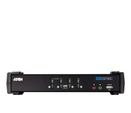 ATEN CS1764A-AT-G USB + DVI-D + audio (4 komputery) (CS1764A-AT-G )