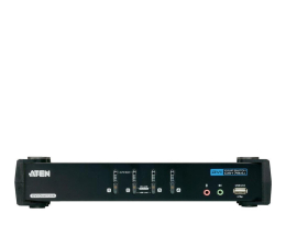 ATEN CS1784A-AT-G USB + DVI + audio (4 komputery) (CS1784A-AT-G)