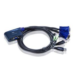 ATEN CS62U-A7 USB + VGA + audio (2 komputery) 1,8m (CS62U-A7 / CS62U-E)