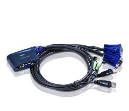 ATEN CS62US-A7 USB + VGA + audio (2 komputery) 0,9m (CS62US-A7)