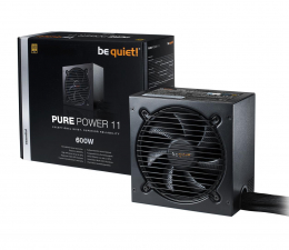 be quiet! Pure Power 11 600W 80 Plus Gold (BN294)