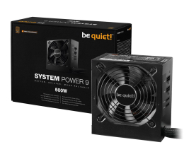 be quiet! System Power 9 500W CM 80 Plus Bronze (BN301)