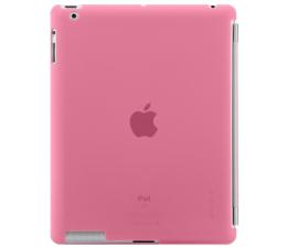 Belkin Plecki do iPad 3 z zabezpieczeniem różowe (F8N745cwC04)