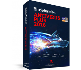 Bitdefender Antivirus Plus 2016 karta 3st. (24m.) (BDAV-N-2Y-3D)