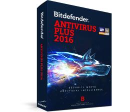 Bitdefender Antivirus Plus 2016 karta 3st. (36m.) (BDAV-N-3Y-3D)