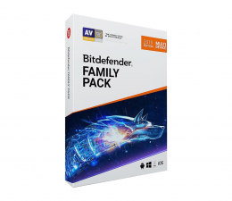 Bitdefender Family Pack 2019 (12m.) Unlimited + Pendrive 32GB (BDFP-NP-1YNL)