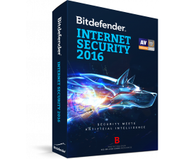 Bitdefender Internet Security 2017 1st 24m + MobileSecurity (BDIS-N-2Y-1D)