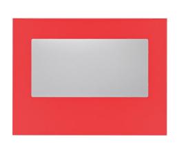 Bitfenix Panel boczny z oknem do Prodigy czerwony (BFC-PRO-300-RRWA-RP)