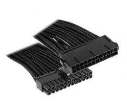 Bitfenix Przedłużacz 24 Pin 30cm czarny (BFA-MSC-24ATX45KK-RP)