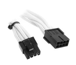 Bitfenix Przedłużacz 6+2 Pin PCIe 45cm biały (ZUAD-389 / BFA-MSC-62PEG45WK-RP)