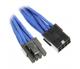 Bitfenix Przedłużacz 6+2 Pin PCIe 45cm niebieski (BFA-MSC-62PEG45BK-RP)