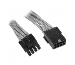 Bitfenix Przedłużacz 6+2 Pin PCIe 45cm szary (BFA-MSC-62PEG45SK-RP)