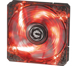 Bitfenix Spectre PRO 120mm czarny LED (czerwony) (BFF-LPRO-12025R-RP)
