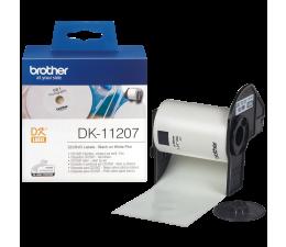 Brother Etykieta na CD/DVD 100 szt. (DK11207) (DK11207 - QL-800,QL-810W,QL-820NWB)