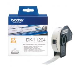 Brother Etykieta wielofunkcyjna 400 szt. (DK11204) (DK11204 - QL-800,QL-810W,QL-820NWB)