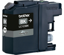 Brother LC123BK black 600str. (J152W/J4110DW/J4410DW/J4510DW/J470DW/J552DW)
