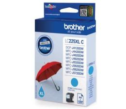 Brother LC225XLC cyan 1200 str. (J4120DW/J4420DW/J4620DW/J5320DW/J5620DW/J5720)