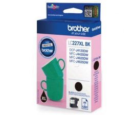 Brother LC227XLBK black 1200 str. (DCP-J4120DW/MFC-J4420DW/MFC-J4620DW)