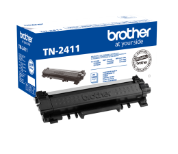 Brother TN2411 Black 1200 str. (TN-2411) (DCP-L2512D / L2532DW / L2552DN)