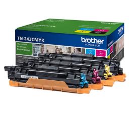 Brother TN243CMYK zestaw 4 tonerów 1000 str (HL-L3210CW/HL-L3270CDW/DCP-L3510CDW/MFC-L3730)