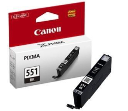 Canon CLI-551BK black 350str. (iP7250/MG6450/MG6350/MX925/MG7150/MG5550)