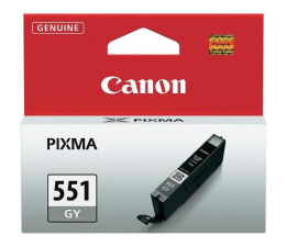 Canon CLI-551GY grey 125str. (iP7250/MG6450/MG6350/MX925/MG7150/MG5550)