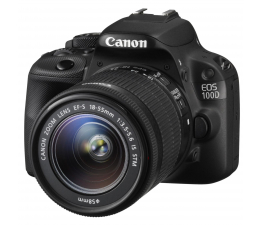 Canon EOS 100D czarny +EF-S 18-55 DCIII (8576B033AA / 8576B033AB)