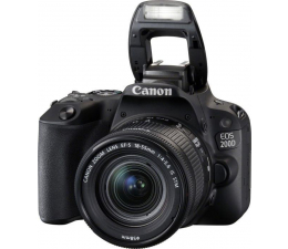 Canon EOS 200D + 18-55 mm IS STM (2250C002AA)