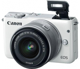 Canon EOS M10 + 15-45mm biały  (0922C012AA)