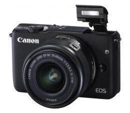 Canon EOS M10 + 15-45mm czarny (0584C012AA)