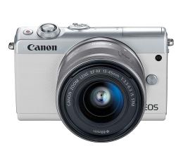 Canon EOS M100 EF-M 15-45mm IS STM biały + Irista 50GB (2210C093)