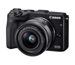 Canon EOS M3 czarny + 15-45mm  (9694B234AA)