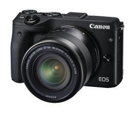 Canon EOS M3 czarny + 18-55  (9694B064AA)
