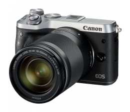 Canon EOS M6 18-150 mm srebrny  (1725C022AA)