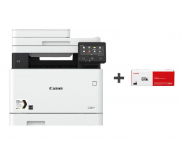 Canon i-SENSYS MF732Cdw + dodatkowy toner 2200 str.  (MF-732Cdw (1474C013AA) + CRG-046 (1250C002AA))