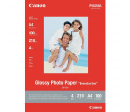 Canon Papier fotograficzny GP-501 (A4, 210g) 100szt. (Glossy Photo Paper