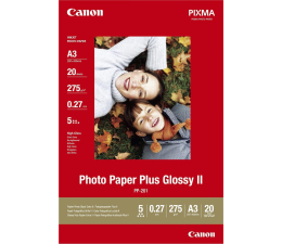 Canon Papier fotograficzny PP-201 (A3, 260g) 20szt. (Photo Paper Plus Glossy II - 2311B020)