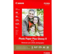 Canon Papier fotograficzny PP-201 (A4, 275g) 20szt. (Photo Paper Plus Glossy II - 2311B019)